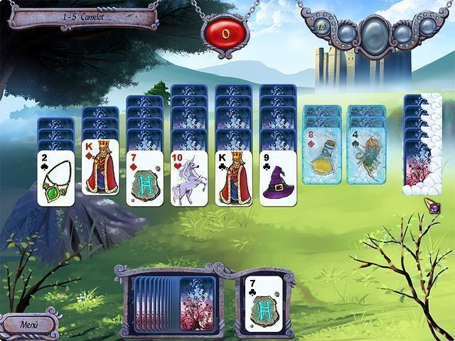 Avalon Legends Solitaire en Español game