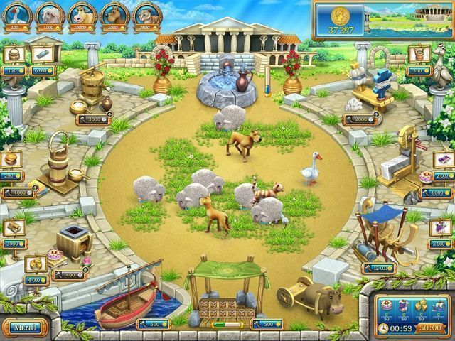 Farm Frenzy: Ancient Rome en Español game
