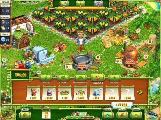 Hobby Farm en Español game