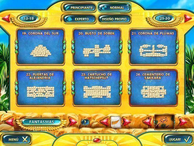 Mahjongg: Ancient Egypt en Español game