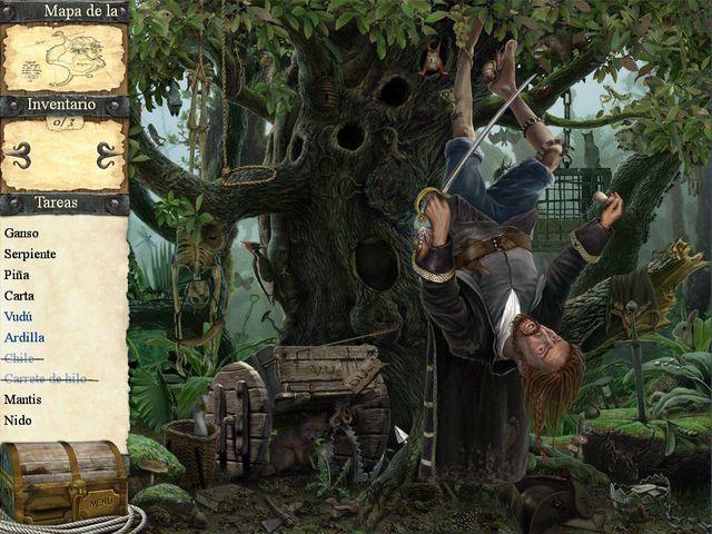Robinson Crusoe y los Piratas Malditos en Español game
