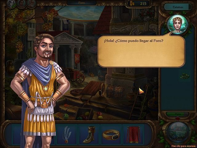 Romance of Rome en Español game