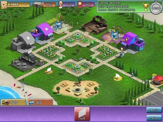 Summer Resort Mogul en Español game