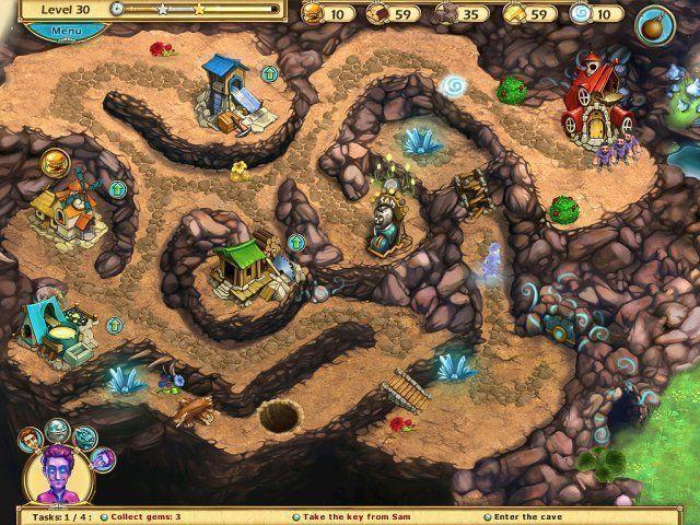 The Beardless Wizard en Español game