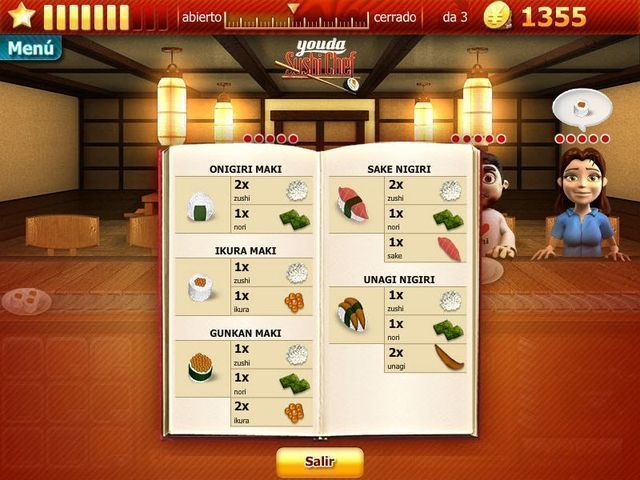 Youda Sushi Chef download free en Español
