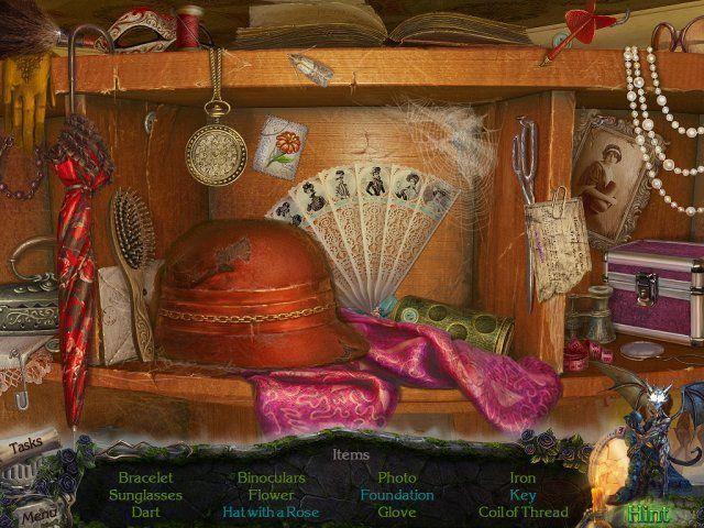 Gioco Mystery Castle: The Mirror's Secret download italiano