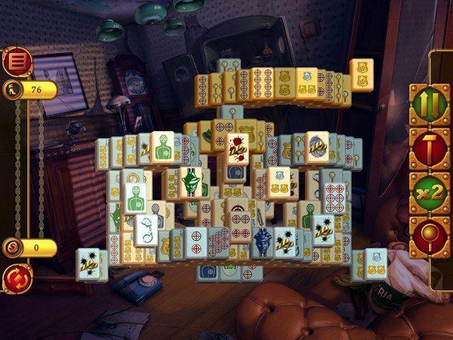 Mahjong Detective:  L'Amour Volé